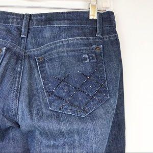 Joe's Rocker Dark Wash Denim Jeans